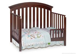 Convertible Cribs With Toddler Rail by Delta Bentley 4 In 1 Convertible Crib Chocolate Walmart Canada