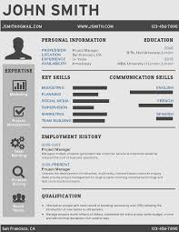 Infographic Resume Template Free Professional Resume Template Resume Template And