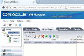 ovm console how to upload the iso files to ovm repository unixarena