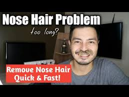 Meme Hair Removal - nose hair problem nose hair removal using a nose hair trimmmer