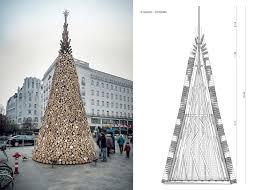 hello christmas tree charity christmas tree by hello wood inhabitat green design