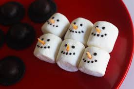 snowman marshmallows diy marshmallow snowman cupcakes catch my party