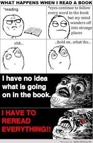 Reading Book Meme - what happens when i read a book