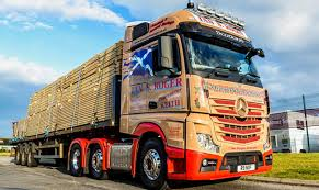 ian s roger transport orders third mercedes benz actros from