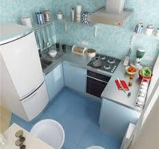 Blue Green Turquoise Bathroom Decor Space Saving Modern by 15 Modern Small Kitchen Design Ideas For Tiny Spaces Small
