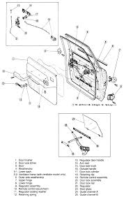 Exterior Car Door Handle Repair What Is The Procedure To Install Outside Door Handle On87 Nissian