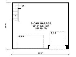 garage floor plan garage plans with lofts craftsman style garage plan with loft