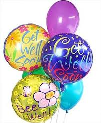 get well soon and balloons get well soon balloon bouquet in washington dc and rockville md