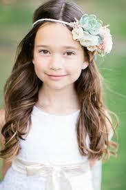 hair for wedding 38 girl hairstyles for wedding deer pearl flowers