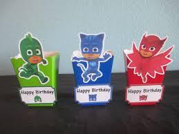 pj masks popcorn boxes10pj masks favor boxespj masks
