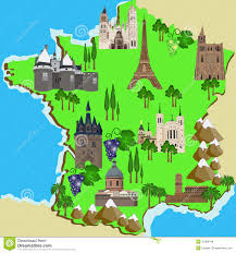 Toulouse France Map by France Map Tourist