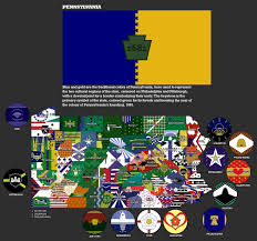 Jefferson State Flag New Pennsylvania Flags State Flag And Map By Djinn327 On Deviantart