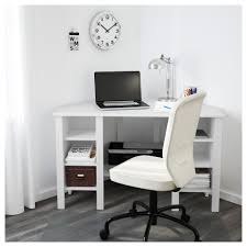 brusali bureau d angle blanc 120x73 cm ikea
