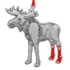 on moose ornament chowdaheadz