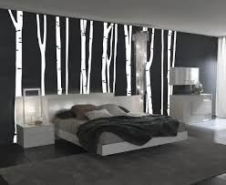 White Tree Wall Decal Nursery Anggreable Mural Birch Tree Wall Decal Decor