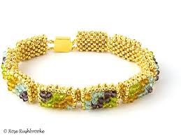 weave beaded bracelet images Breakfast at tiffany 39 s bracelet pattern by elizabeth townes jpg