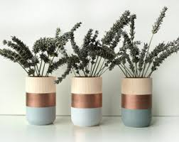 Vase Home Decor Wooden Vases Home Decor For Flowers And More Set Of 3