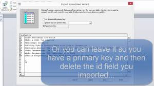 microsoft access for android export sqlite database to excel then import that into access
