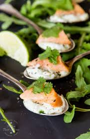 what does canape salmon ceviche recipe with herbed mayonnaise