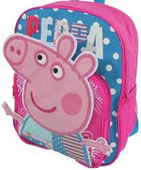 peppa pig 3d backpack mighty