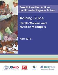 essential nutrition actions and essential hygiene actions