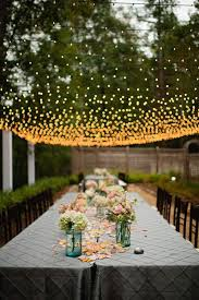 Backyard Wedding Lighting Ideas 30 New Ideas For Your Rustic Outdoor Wedding U2026 Garden Weddings