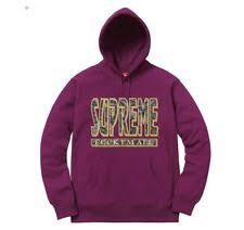 supreme men u0027s hoodies and sweats ebay