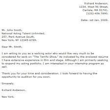 actor cover letter examples cover letter now