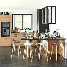 chaise de bar cuisine tabouret de bar de cuisine tabouret de bar en chane et mactal noir