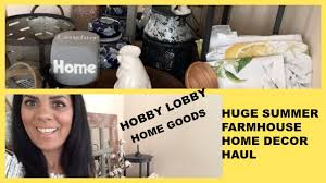 hobby lobby u0026 homegoods farmhouse home decor haul youtube