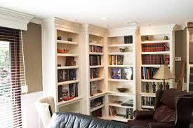 Crown Molding Bookshelf Innovative Corner Bookcase Vogue Minneapolis Contemporary Family