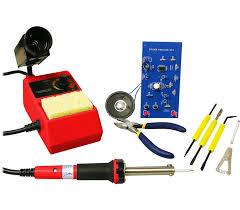 soldering kit advanced sm skull led solar power soldering kit