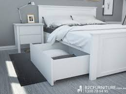 Diy King Platform Bed With Drawers by Bed Frames Queen Storage Bed King Storage Bed King Platform Bed
