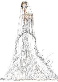 the serendipitist angelina jolie u0027s fantasy wedding gown sketches