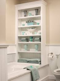 Shelves For Small Bathroom Bathrooms With Clever Storage Spaces