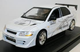 fast and furious evo ertl 1 18 diecast model car fast furious 2002 mitsubishi lancer