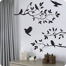 Wall Stickers Cats 28 Wall Sticker Birds Tree With Bird Cage Wall Stickers By