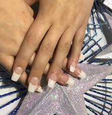 french manicure coffin nails 8 double team dynamicpunch