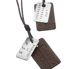 personalized dog tag necklaces dog tag styles