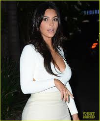 kim kardashian u0026 kanye west step out for romantic date night at