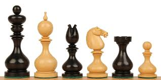 cool and opulent wood chess pieces home designing