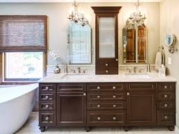 remodeling 27 bathroom with dark vanity on contemporary bathroom