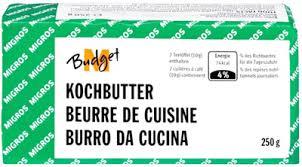 beurre de cuisine beurre de cuisine m budget migros 250 g