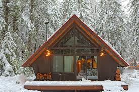 a frame cottage a frame cabin near tacoma