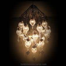 Turkish Chandelier Turkish Blown Glass Chandelier Mosaic L Floor Ls Turkish