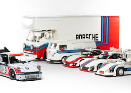 lego mini cooper porsche the chicane porsche