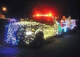 christmas light parade floats christmas rolls into prescott photo gallery the daily courier