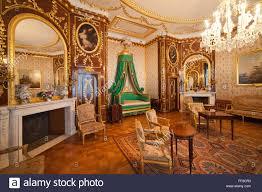 poland city of warsaw royal castle interior bedchamber designed