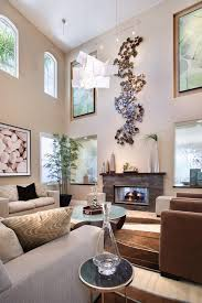 Ceiling Fans For High Ceilings by Wall Art Asian Panels Living Room Contemporary With High Ceilings