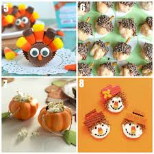 thanksgiving cupcake decorating ideas thanksgiving desserts for kids